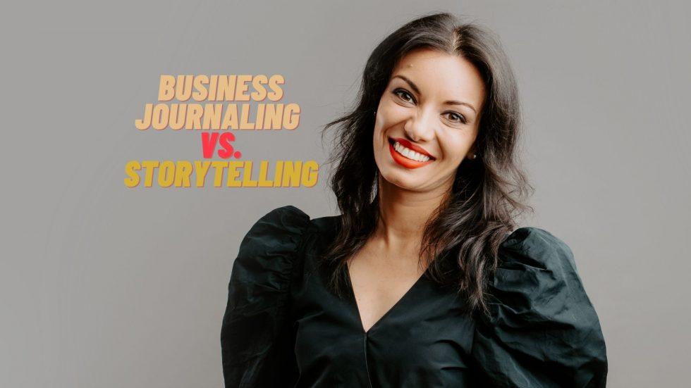 business journaling and storytelling for entrepreneurs